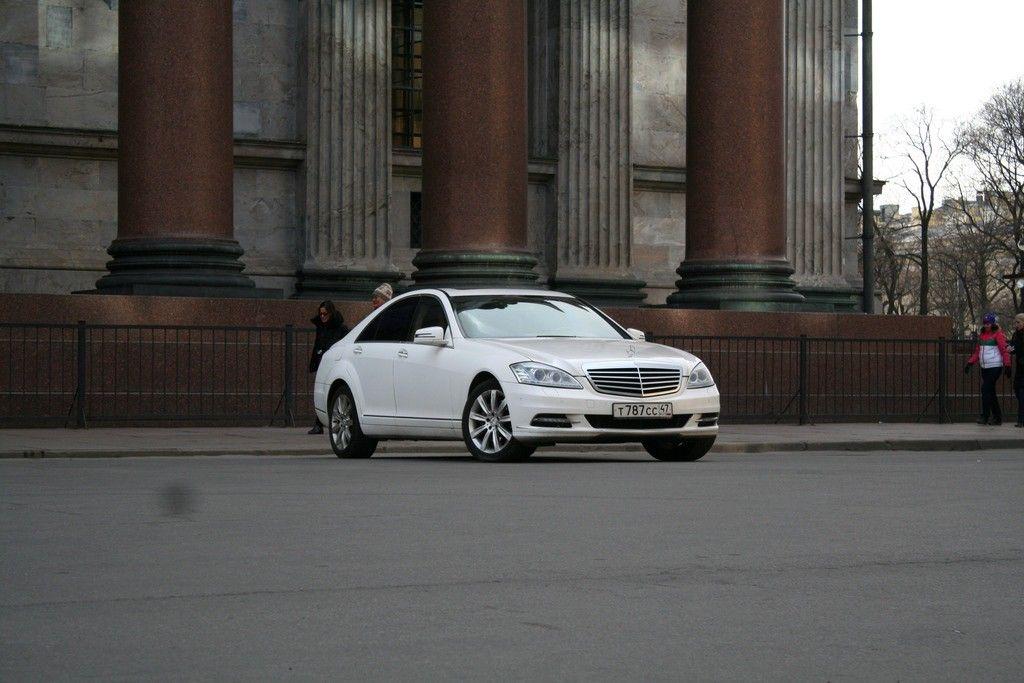 Mercedes-221-white